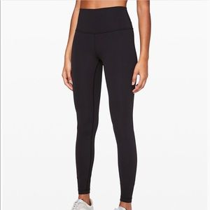 "Lululemon Wunder Under Hi Rise Tight 28"" Legging"